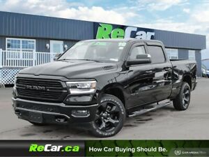 2019 RAM 1500 Sport CREW | NAV | HEATED SEATS | ONLY 3,700 KM