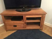 Solid oak Tv cabinet local delivery
