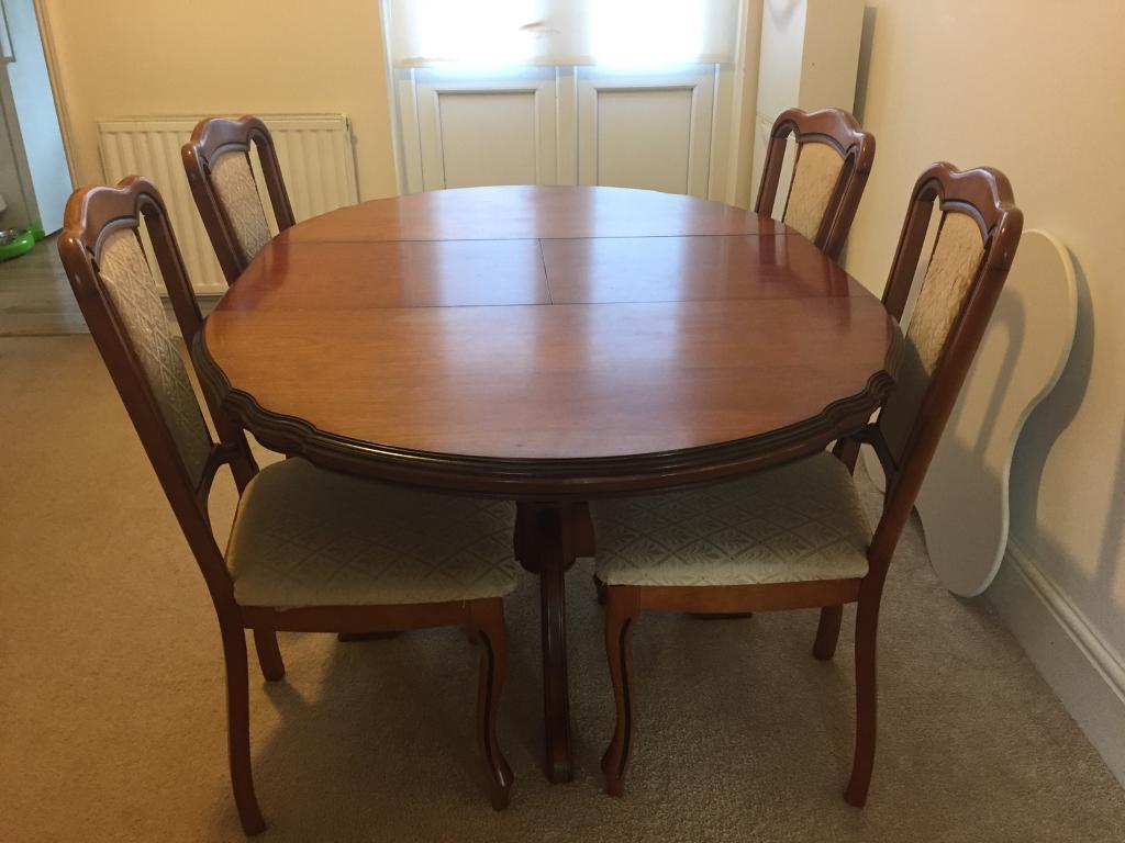 Antique Dining Table Set From Harrods