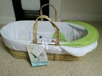 Moses basket with stand - brand new