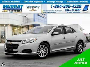 2016 Chevrolet Malibu LT *Remote Start, Rear View Camera, OnStar