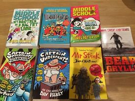 SELECTION OF BOYS BOOKS (Including James Patterson and David Walliams)