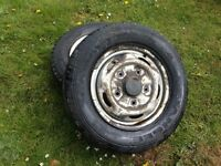 ford transit tyres, like new, 195/70/15 and 215/75/16 , £10 each kilmarnock