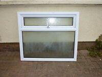 Used uPVC Window, 1230mm x 1070mm