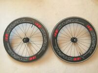 ALL NEW_HIGH END OVAL CONCEPTS 980 TUBULAR WHEELSET, TYRES, & 2 COGS_GREAT DEAL!