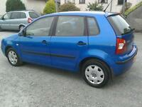 04 VW Polo 1.2 5 door service history ( can be viewed inside anytime)