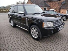Land Rover Range Rover 3.6 TD V8 Vogue,Facelift,Bluethooth,Privacy glass,Harmon Kardon,Full History