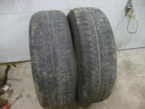Two 225-65-17 snow tires $70.00
