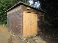 12ft x9ft shed, insulated and boarded inside