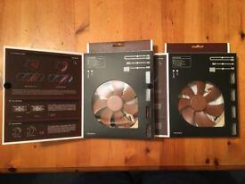 2x Noctua NF-A14 ULN fans (140mm).