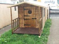 8ft x 4ft playhouse