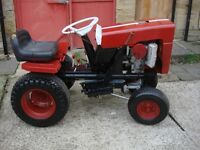 tractor bolens model 1250 ,honda engine 296cc full working good drive