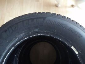 4 x Michelin Cross Climate Tyres 205 65 R15