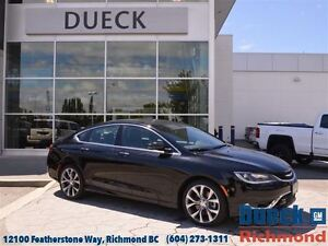 2016 Chrysler 200 C LOW Mileage - Accident Free - Local
