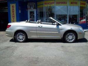 2008 Chrysler Sebring  Touring décapotable