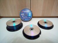 Packs of DVD+R