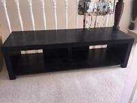 TV STAND wooden black