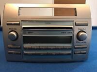 Toyota Corolla Verso Genuine MP3 CD Player unit.