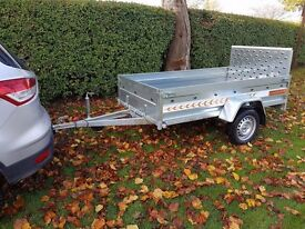 New car trailer 7.7 x4.1 and ramp - £820 inc vat