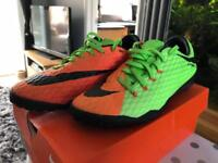 Nike AstroTurf football boots size 6.