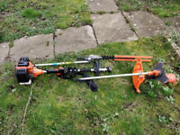 3 in 1 petrol strimmer, brush cutter and hedge trimmer