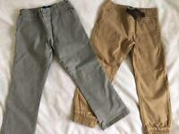 Blue Zoo 2 pairs Trousers brand new age 5