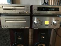 Technics hd560 hifi system with Speakers 🔊