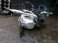 110cc engine 4speed manual