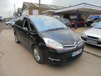 just in awaiting valet 2007 07 citroen c4 picasso 2.0 diesel 7 seater automatic exclusive