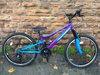 New EX Display Falcon Siren Girls Bike - 24 inch Wheel - RRP £275