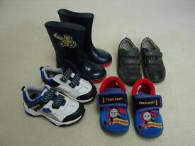 TRAINERS, SLIPPERS, WELLIES AND SHOES - SIZE 7 - BARGAIN PACKAGE