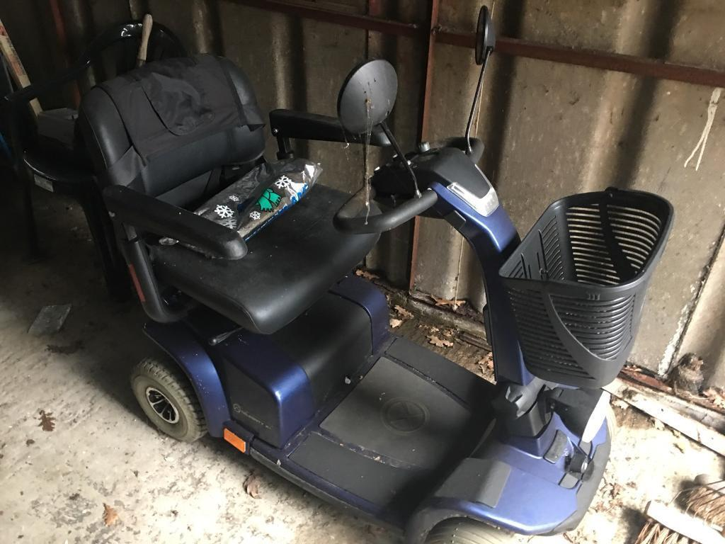 4 Wheel Mobility Scooter Celebrity X4