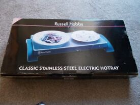 Russell Hobbs Classic Stainless Steel Electric Hotplate
