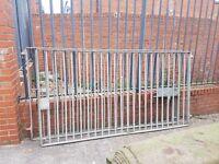 CHEAP, Galvanised garden gates