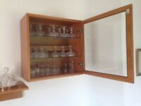 Tapley Display Unit in Teak.