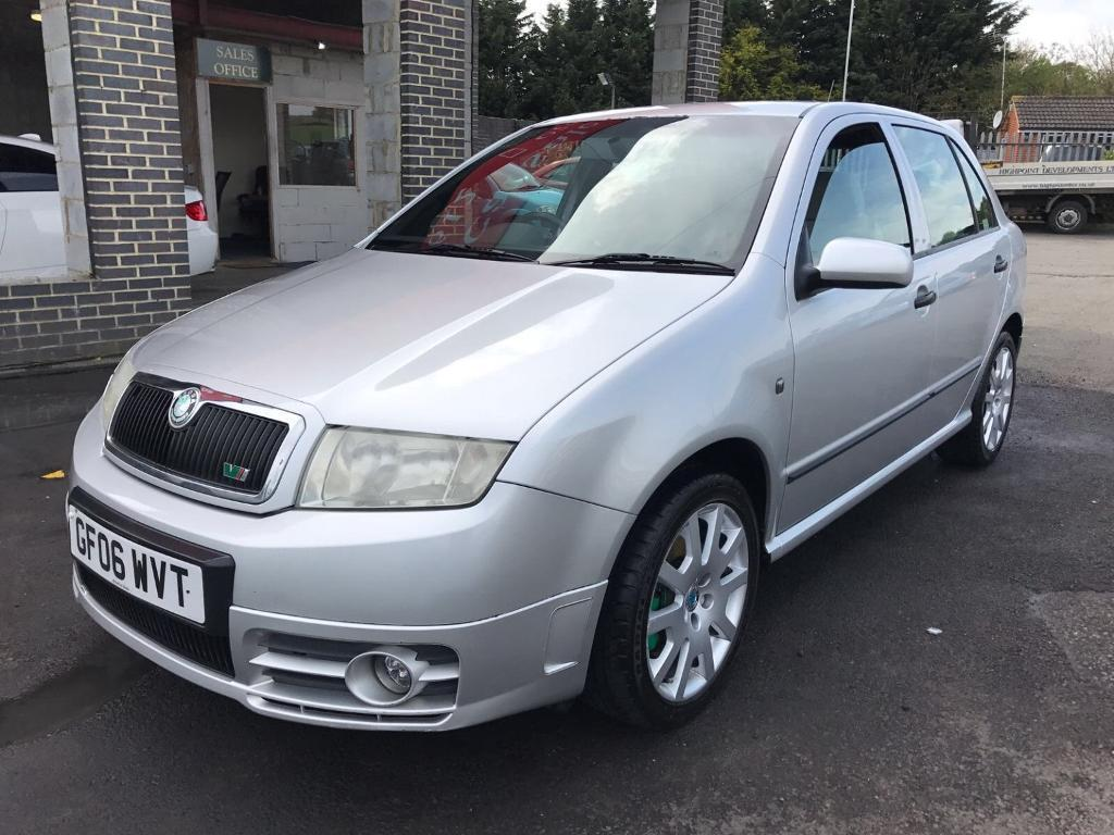 skoda fabia vrs tdi pd 130 5 door hatchback silver 2006 in maidstone kent gumtree. Black Bedroom Furniture Sets. Home Design Ideas