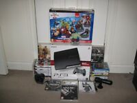 PS3 BUNDLE 160GB WITH LOTS OF GAMES AND ACCESSORIES READ DESCRPTION FOR FULL LIST