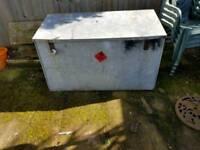 Storage box galvanised