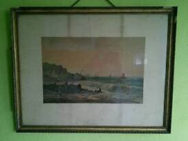 Antique signed picture by William Henry Vernon