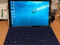 Microsoft surface pro 4 i5 - keyboard and pen