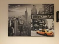 New York canvases