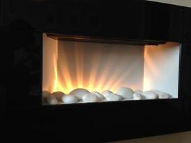 Contemporary Kavachi Electric Fireplace