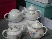 pretty teapots ideal for weddings or afternoon tea parties
