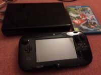 Wii u console 32gb with games