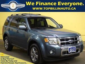 2011 Ford Escape Limited 4WD, Leather, Sunroof