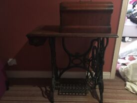 Antique singer sowing machine