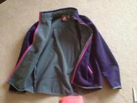 Thick winter fleece jacket