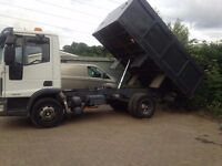 Iveco 7.5 ton tipper truck for sale excellant cond.