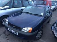 51 REG FORD FIESTA 1.3 FUN-3 DOORS-JUNE MOT-SOLDAS SPARES OR REPAIRS-DRIVES WELL