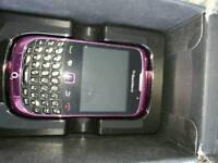 Blackberry curve moblie on o2
